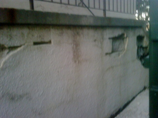 photo of wall repairs requested in toronto